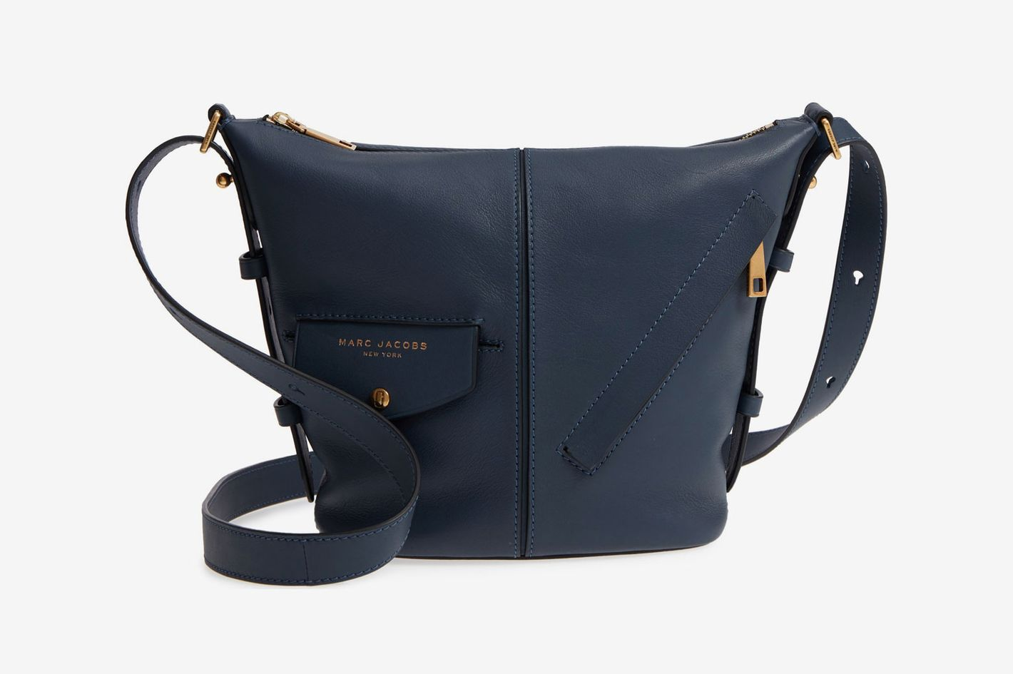 Marc Jacobs Mini Sling Convertible Leather Hobo