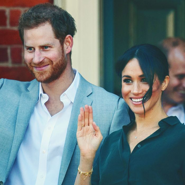 Prince Harry and Meghan Markle in Sussex.