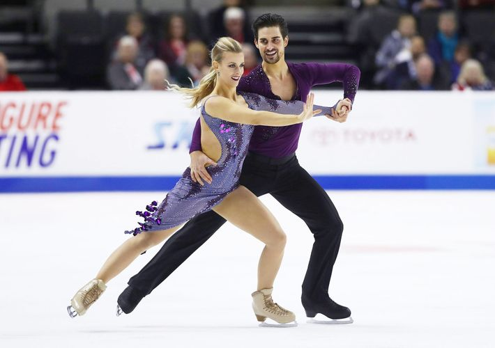 Alexa Scimeca-Knierim and Chris Knierim