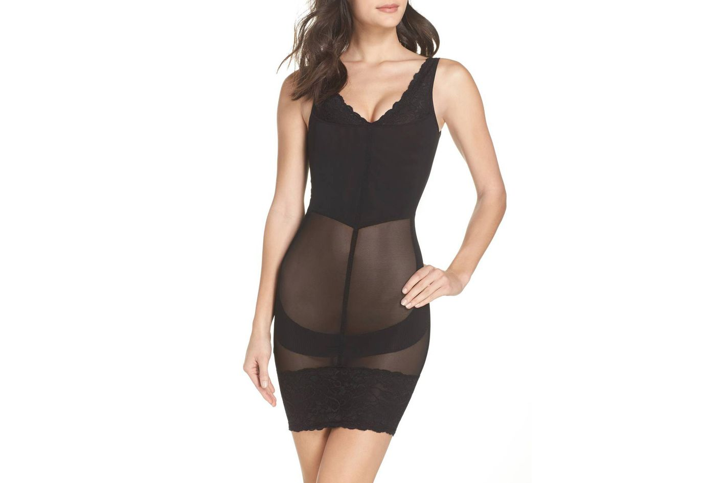 f58fc3232 MAGIC BODYFASHION Super Control Lace Slip at Nordstrom