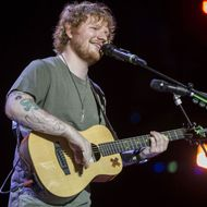 Ed Sheeran Performs In Brisbane