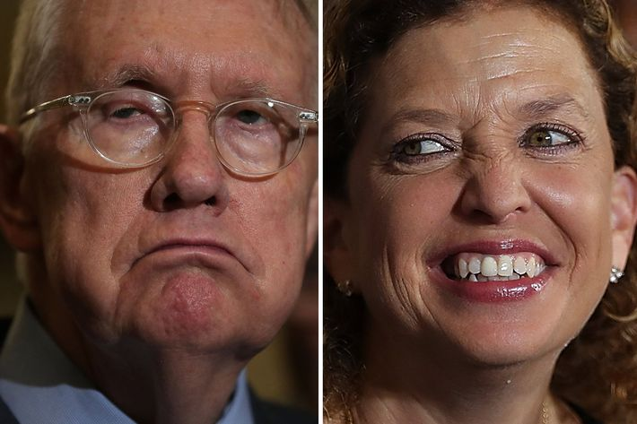 Harry Reid torches the 'worthless' DNC and incinerates Debbie Wasserman Schultz