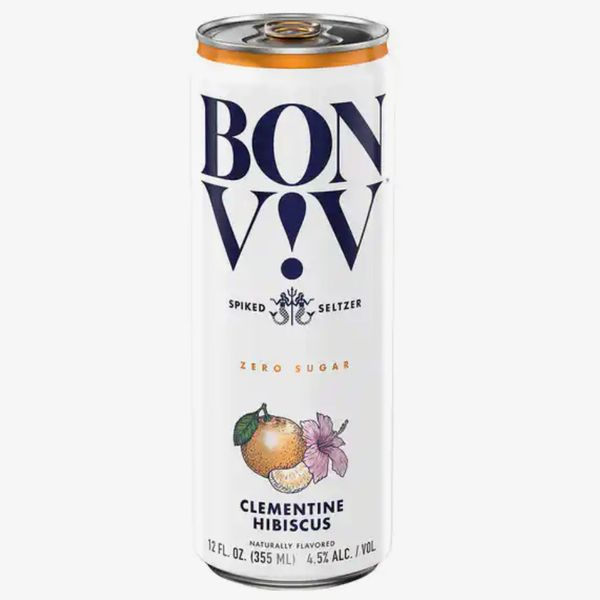 Bon V!V Spiked Seltzer in Clementine Hibiscus