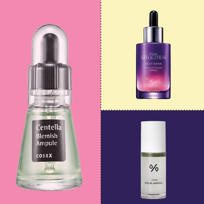 Different brands of amoules (serums) — The Strategist reviews skin care