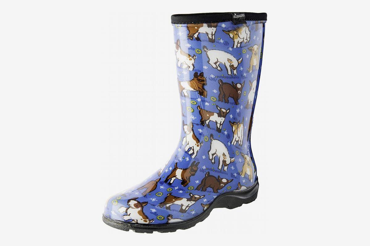 Transparent Children Rain Boots Black White Non Slip Gear Waterproof Kids Shoes