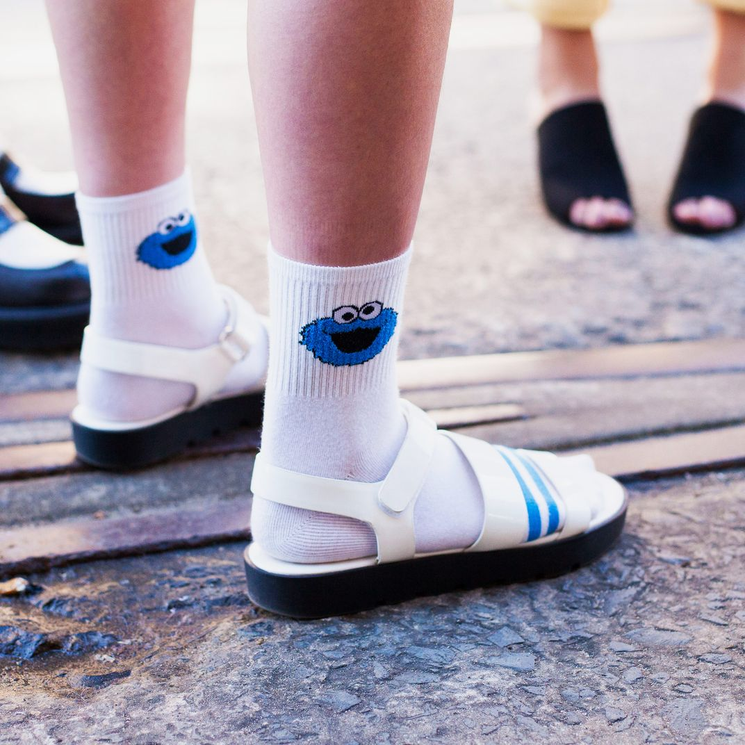 fb7f2de08e7f0 How to Wear the Socks and Sandals Trend 2018