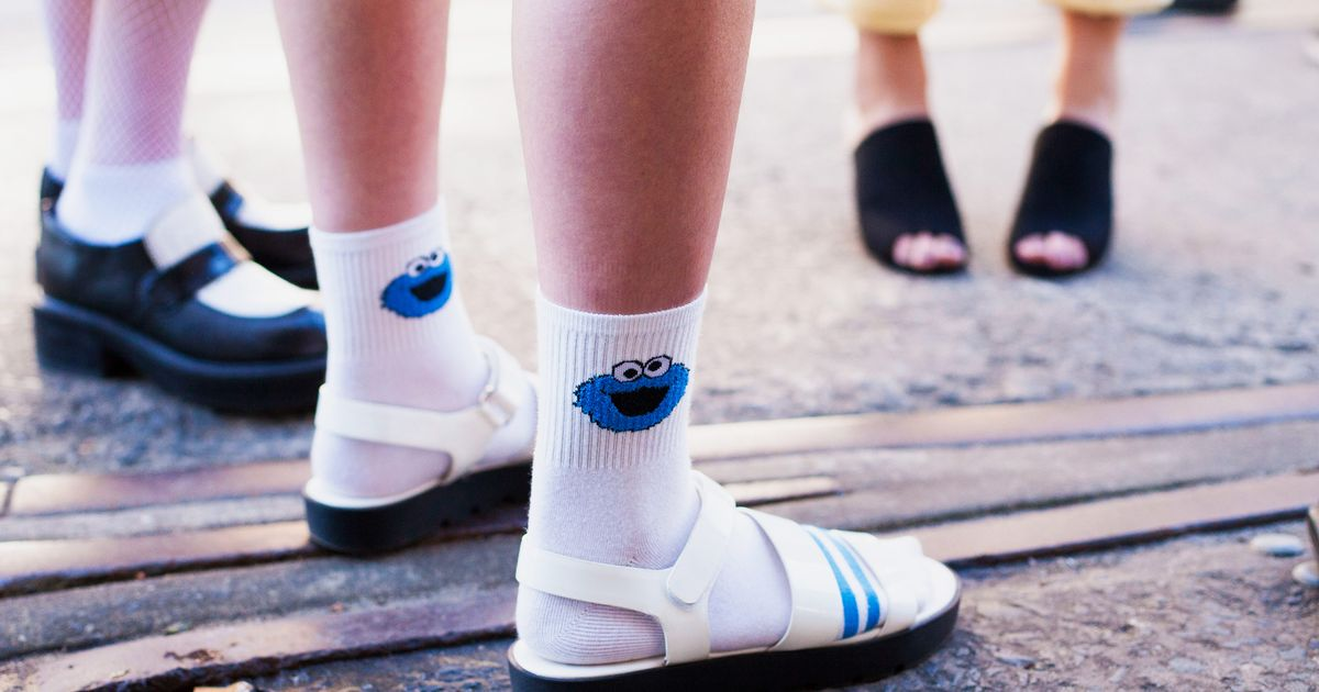 How To Wear The Socks And Sandals Trend 2018 The Strategist