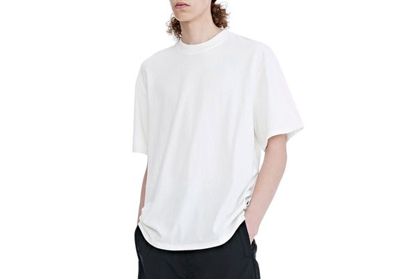 High-Twist Jersey Short-Sleeve Tee