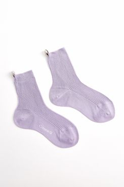 Comme Si Cotton Lilac Socks