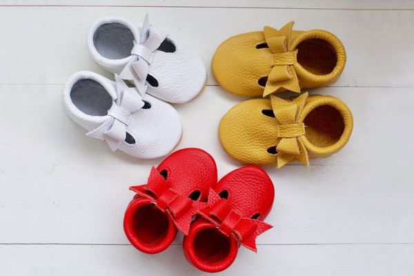 T-strap baby Moccasins