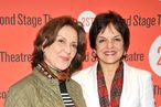 "Kelly Bishop and Priscilla Lopez attend the Off-Broadway opening night of ""By the Way, Meet Vera Stark"" at the Second Stage Theatre on May 9, 2011 in New York City."