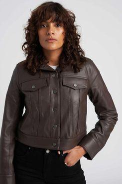 Universal Standard Parker Leather Jacket