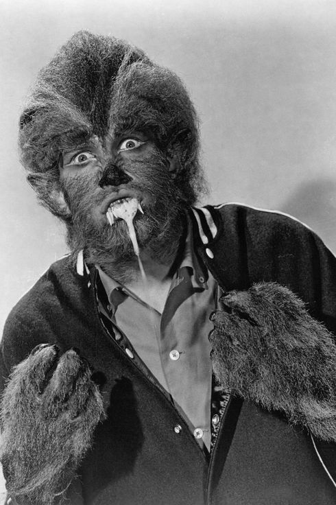 American actor Michael Landon (1936 - 1991) as the werewolf Tony Rivers, in a promotional still for 'I Was A Teenage Werewolf', directed by Gene Fowler Jr, 1957. (Photo by Silver Screen Collection/Getty Images)