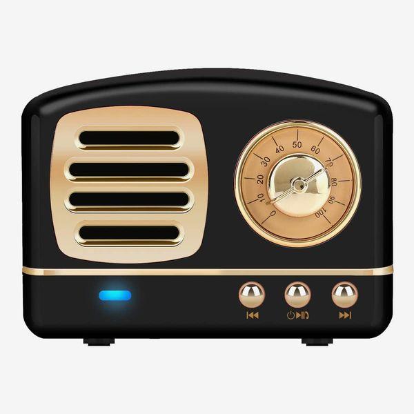 Dosmix Wireless Stereo Retro Speakers