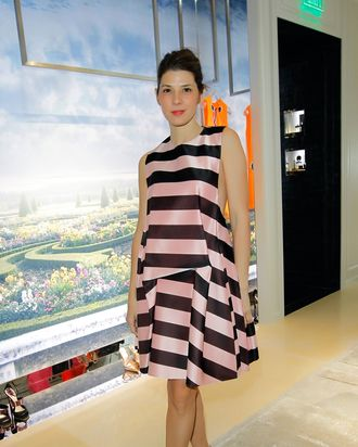 Marisa Tomei in Dior spring 2013.
