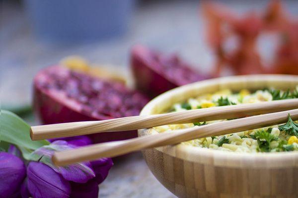 Totally Bamboo Twist Chopsticks