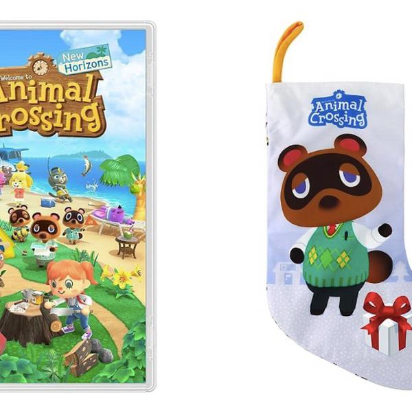 Nintendo - Animal Crossing: New Horizons and Sunrise Identity - Animal Crossing Tom Nook Holiday Stocking