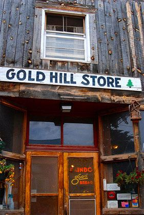 "<b>The Destination:</b> <a href=""http://www.goldhillstore.com/"">Gold Hill General Store</a> in Gold Hill  <b>How to Get There:</b> A short ten-mile drive north of Boulder.  <b>When to Go:</b> Daytime in the summer is probably best, but they're open year-round for breakfast and lunch.     The tiny mountain town of Gold Hill was the first mining camp in Colorado, and a nearby gold mine was actually still operational until 2008. The Gold Hill General Store has been the project of Hugh Moore for the last couple decades, and became a popular weekend daytripping spot in recent years for people in Boulder and tourists coming to Rocky Mountain National Park. (It's also the only dining option in town that's open year-round, warmed by a single potbelly stove in the winter.) They're known for their huevos rancheros, and their smothered breakfast burrito — a good and spicy hangover cure if ever there was one, topped with green chile sauce and stuffed with eggs, olives, and cheese.    <i>Gold Hill General Store and Café, 531 Main Street, Gold Hill, CO; 303-443-7724</i>"