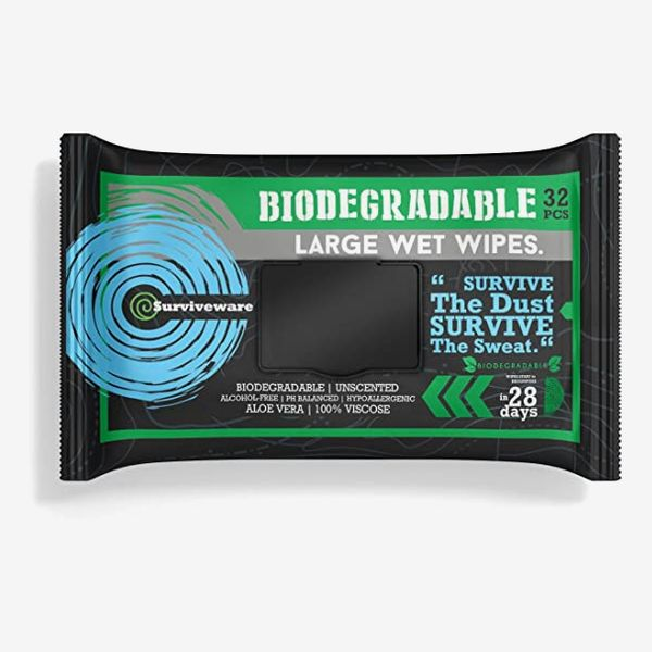 Surviveware Biodegradable Wet Wipes