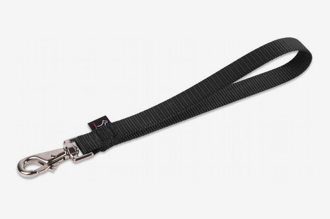 """LupinePet Basics 1"""" Black Leash"""