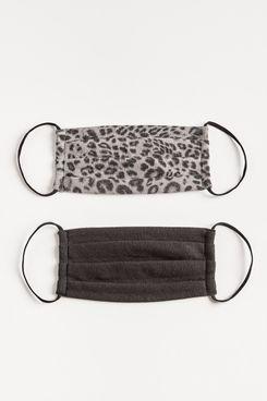 Z Supply Grey Leopard Reusuable Face Mask