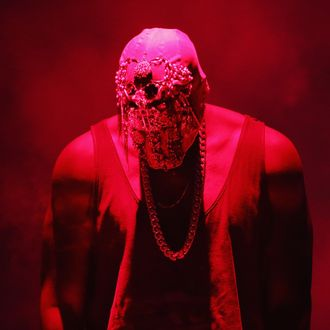 SYDNEY, AUSTRALIA - SEPTEMBER 12: Kanye West performs live for fans at Qantas Credit Union Arena on September 12, 2014 in Sydney, Australia. (Photo by Don Arnold/WireImage)
