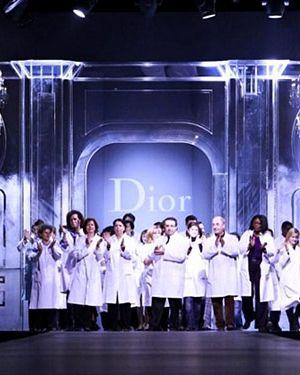 Dior's design team.