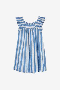 Peek Arn't You Curious - Kids Sleeveless Striped Dress