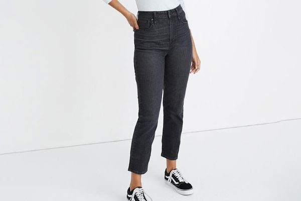 Madewell The Curvy Perfect Vintage Jean in Sumner Wash