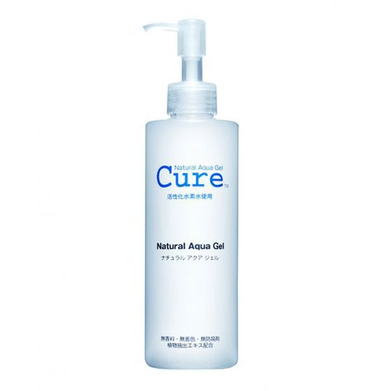 "My mom brought back <a href=""http://www.amazon.com/Cure-Natural-Aqua-Gel-250ml/dp/B001ABLKK2"">Cure Aqua Gel</a> from a recent trip to Japan, and it might be my favorite beauty discovery of 2013. Somehow, the Japanese have one-upped everyone else in creepy yet effective exfoliators that both thrill and terrify you with how much dead skin they manage to remove. <a href=""http://www.amazon.com/Baby-Foot-Easy-Pack-1-2/dp/B00461F4PA"">Baby Foot</a>, one such bizarrely named product, sheds dead skin off your feet like a snake sheds its skin. Cure Aqua Gel uses no exfoliating beads, but the gel effortlessly pills dead skin off your face like fuzz off an old sweater. Although you will be a little concerned by how many tiny balls of dead, grey skin come off, it's also captivating, a sign that <i>it's working!</i> Afterward, your skin will feel like it just shed four half-lives."