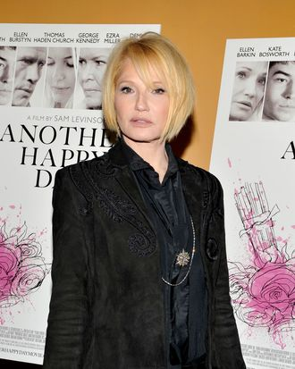 NEW YORK, NY - NOVEMBER 14: Ellen Barkin attends a screening of