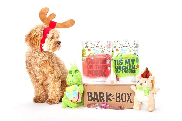 BarkBox and Super Chewer Grinch Holiday Limited-Edition Gift Assortment
