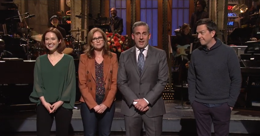 vulture.com - Bethy Squires - Steve Carell on SNL: The Office Is Never, Ever, Ever Getting Back Together