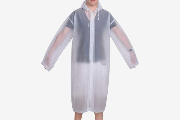 Mudder Portable Raincoat with Hoods and Sleeves