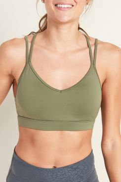 Old Navy Light Support Strappy Sports Bra