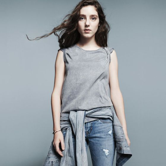 <b>Model:</b> Birdy   <b>Photographer:</b> David Sims