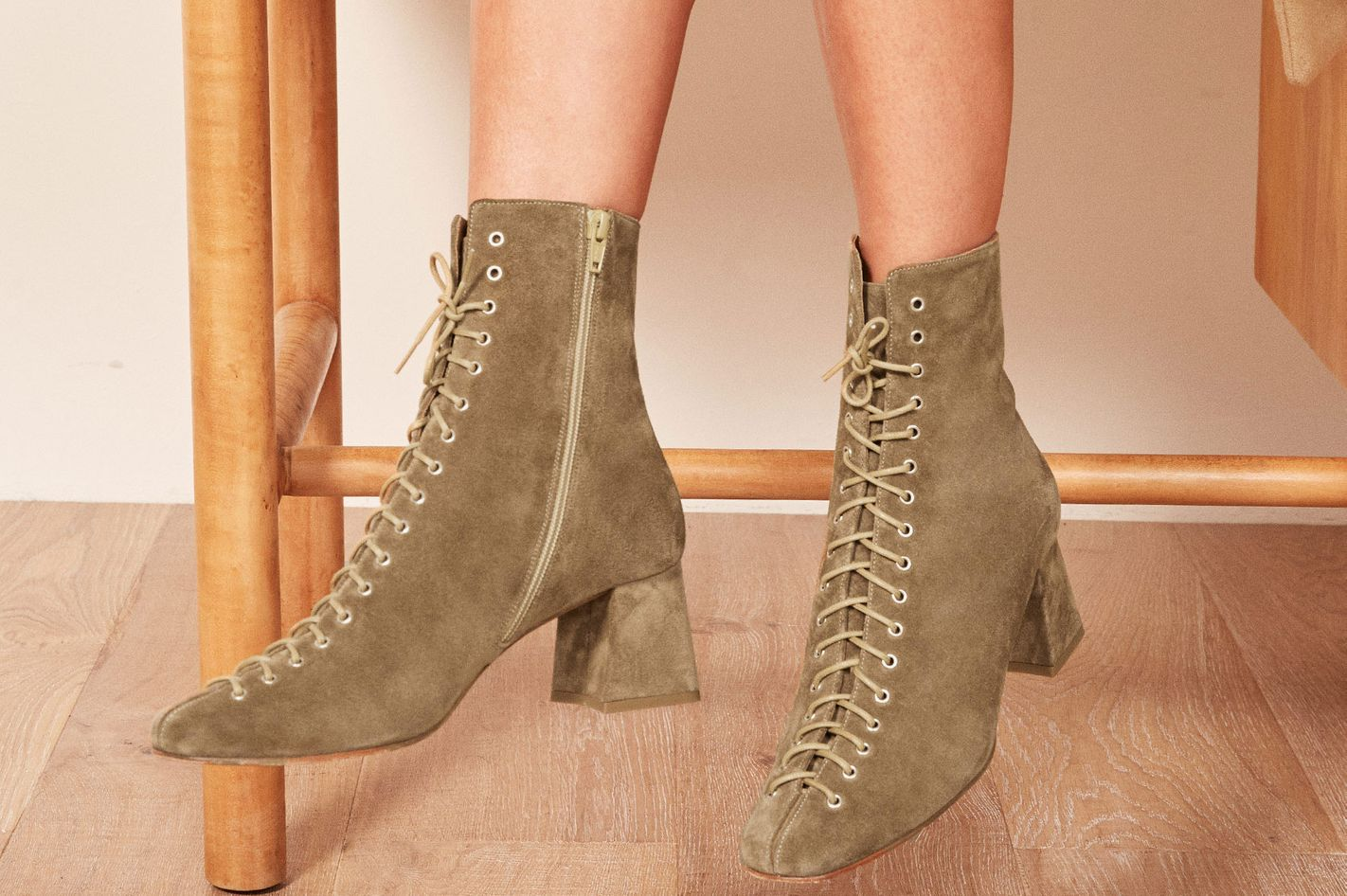 By Far X Reformation Becca Boot