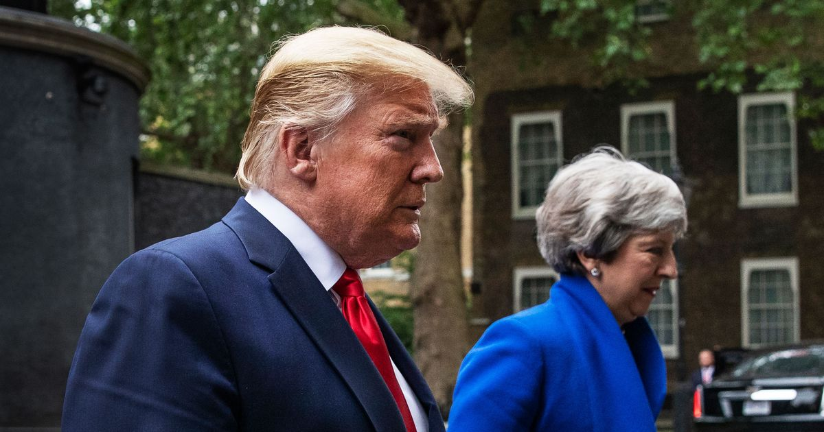 Why Trump Fears the Secret British Memo Calling Him a Clown