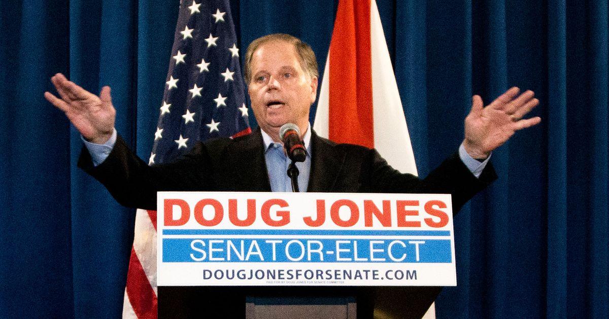 Doug Jones to Enter Senate As a Regular Democrat Who's Open to Bipartisanship