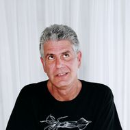Anthony Bourdain: unabashed hater of Food Network.