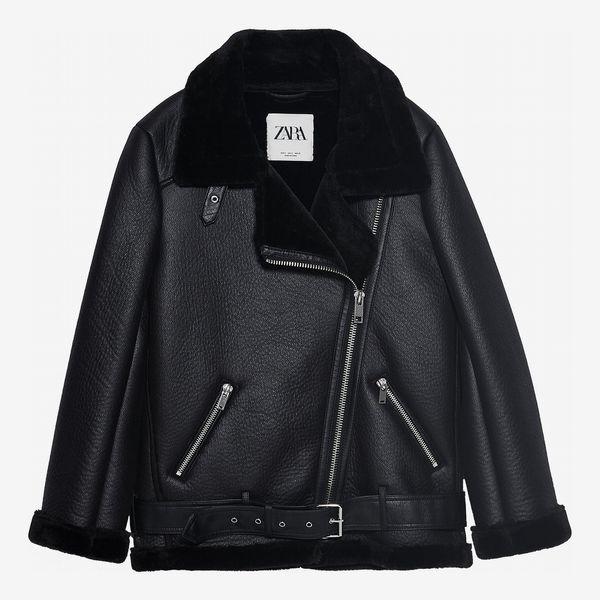 Zara Double Faced Biker Jacket