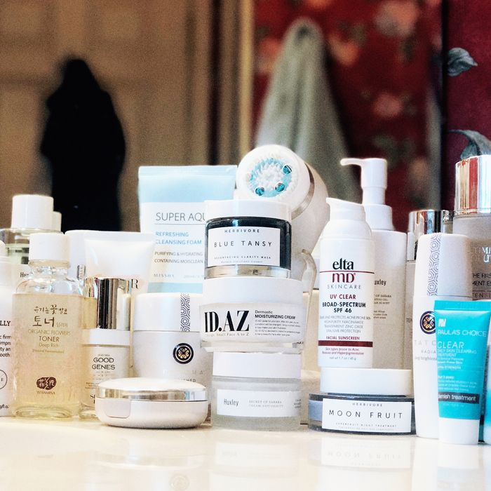 9a0998594d Very Good Light founder David Yi's skin-care haul. Photo: Courtesy of  retailers