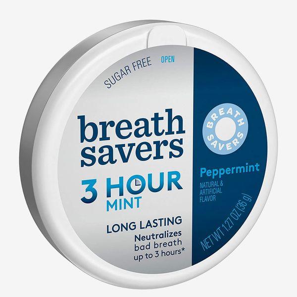 Breath Savers Breath Mints Peppermint Sugar Free Tin, 1.27 Oz.