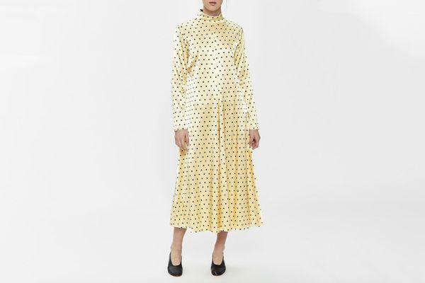 Stine Goya Millie Polka-Dot Dress