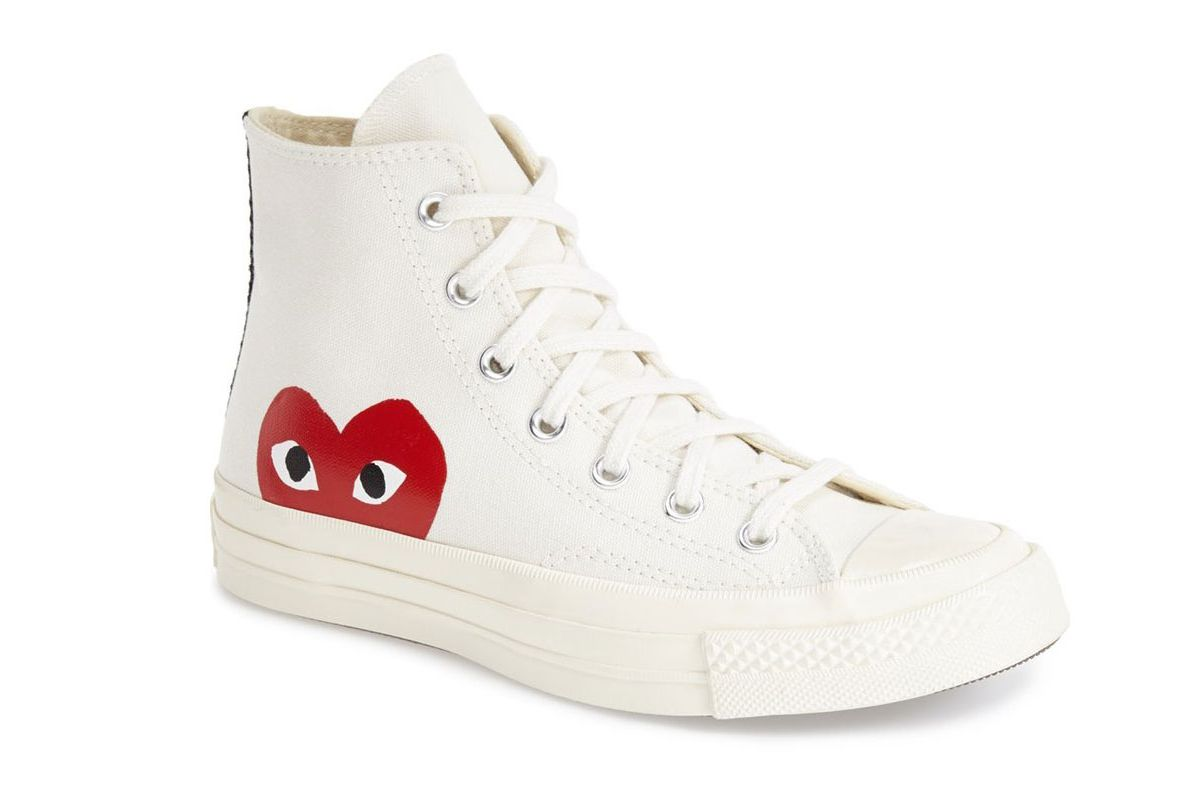 PLAY x Converse Chuck Taylo Hidden Heart High Top Sneaker