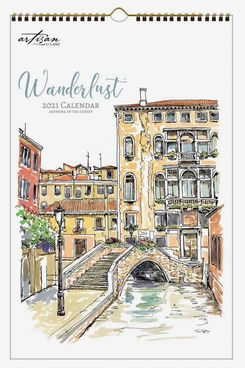 Artisan by Lang 2021 Wall Calendar 11-by-17-Inches Wanderlust