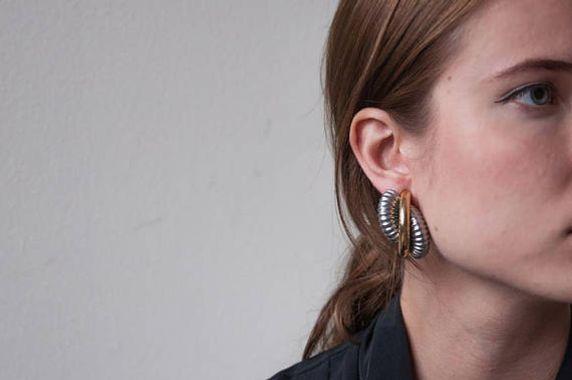 Modern Spiral Earrings