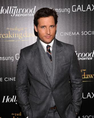 Actor Peter Facinelli attends The Cinema Society with The Hollywood Reporter & Samsung Galaxy screening of