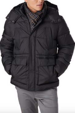 Stoic Men's Insulated Puffer Parka
