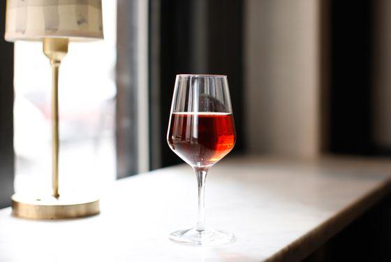 Black Oxford: mezcal, Basque vermouth, Eden Orleans bitters, mole bitters.